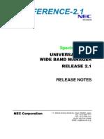 WBM Release 2 1