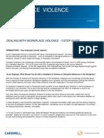 Bill 168 WorkplaceViolence3stepguide
