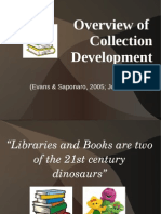 Overview of Collection Development