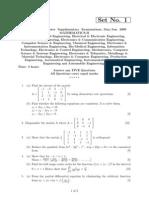 Rr210101 Mathematics II