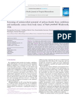 Screening of antimicrobial potential of polysaccharide from cuttlebone  and methanolic extract from body tissue of Sepia prashadiWinkworth,  1936