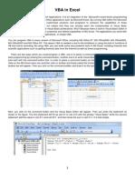 VBA in Excel