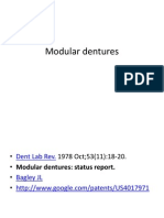 Modular Dentures