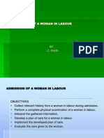Admission of a Woman in Labor
