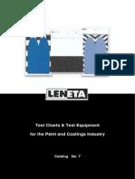 Paint Testing Chart