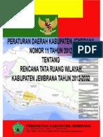Peraturan Daerah Kabupaten Jembrana Nomor 11 Tahun 2012 Tentang Rencana Tata Ruang Wilayah Kabupaten Jembrana Tahun 2012-2032