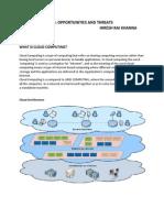 Cloud Computing - Opportunities & Threats