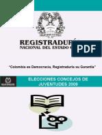 Consejos Municipales de Juventud 2009