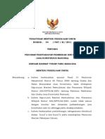 Permen PU No. 4 Tahun 2011