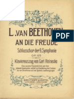 Beethoven Symphony No.9 Vocal and Piano Score