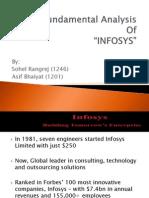 Fundamental Analysis of INFOSYS