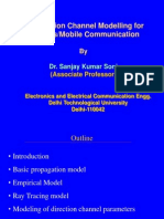 Propagation Models for Wireless and Mobile Communication