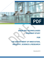 Enabling Technologies RoadMap