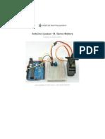 Adafruit Arduino Lesson 14 Servo Motors