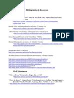 Resources for Interdisciplinary Unit Ed321