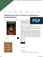 Www.lonavalayoga.org _ Hathatatvakaumudi (a Treatise on Hathayoga by SUNDARADEVA)