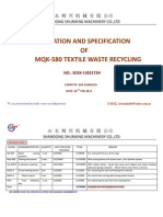 Mqk 580 Recycling Line 1