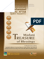 Madani Treasure of Blessings ( Auraad-o-Wazaif  ) Allama Muhammad Ilyas Qadari