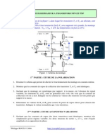 Exercices Amplificateur Dephaseur a Transistors
