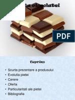 Comportamentul consumatorului.Piata ciocolatei