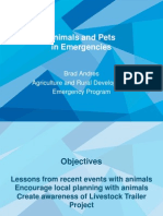 B2 Andres Animals and Pets in Emergencies
