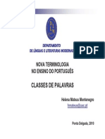 Nova Term Classes de Palavras