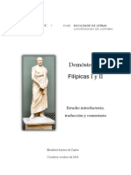 Filipicas IyII_Demostenes_ ESantos_Español