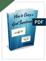 Choose a Good Supplement v6