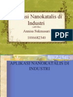 Aplikasi Nanokatalis Di Industri