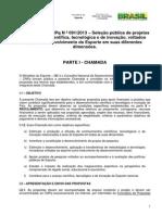 Chamada CNPQ - 91_2013