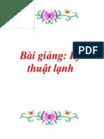 Bai Giang Ky Thuat Lanh
