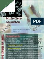 Mutațiile Genetice pdf