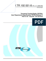 Terrestrial Trunked Radio (TETRA)