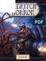 Eldritch Horror Rulebook