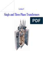Single and Three Phase Transformer