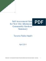 Soil Assessment Guide