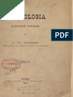 Simion Florea Marian-Ornitologia poporană română. Vol 1