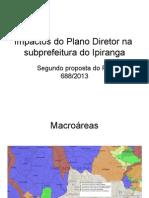 Impactos Do Plano Diretor Na Subprefeitura Do Ipiranga