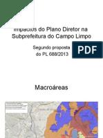 Impactos Do Plano Diretor Na Subprefeitura Do Campo