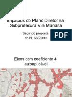 Impactos Do Plano Diretor Na Subprefeitura Vila Mariana
