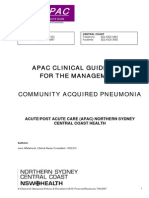 Pneumonia Guidelines
