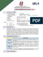 Programacion Anual 2011 - Primero