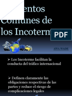 Elementos Comunes de Los Incoterms