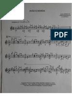 João e Maria - partitura - chico buarque e sivuca - arranjo para violão