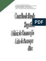 Documentos Conselho Modelo