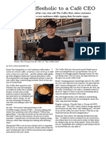 From a Coffeeholic to a Café CEO