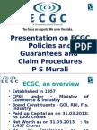 ECGC Policies, Guarantees and Claim Procedures