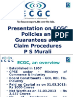 ECGC Policies, Guarantees and Claim Procedures