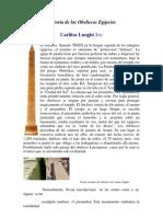 Historia de Los Obeliscos Egipcios Carlitos Lunghi