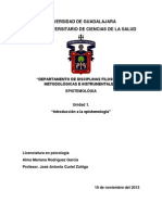 Unidad 1. Introduccion a La Epistemologia
